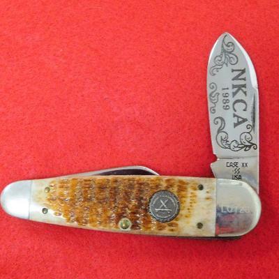 NKCA 1989 Case XX Knife