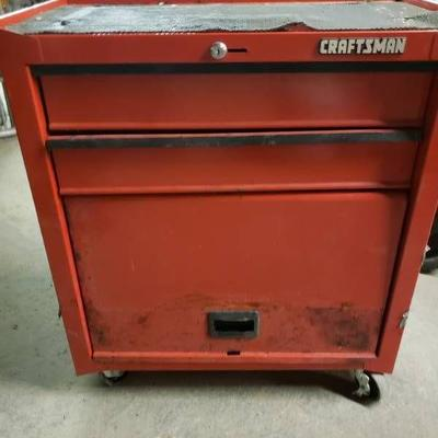 Craftsman Rolling Tool Box with Contents