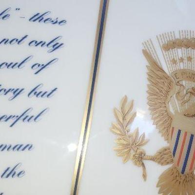 Ronald Reagan Commemorative Mottahedeh Monteith Bowl,