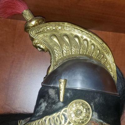 French Dragon Helmet circa 1848 Horse hair Tassel