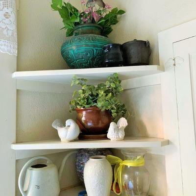 Assorted Vases and Pottery