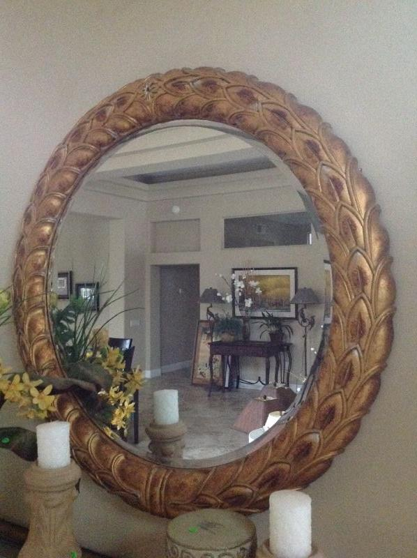 Thomasville mirror originally $1000