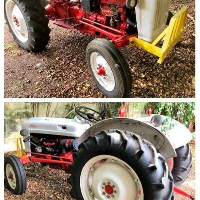 1950s Ford Eightin tractor (12 volt battery)