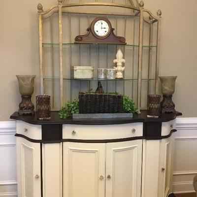 Beautiful Buffet with lots of storage in 2 pieces