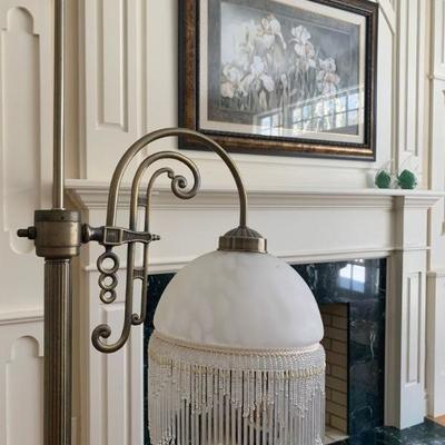 Beaded Floor Lamp