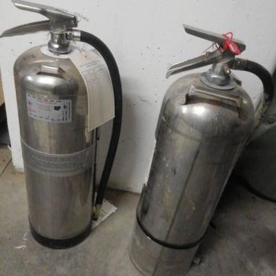 #Pair of Fire Extinguishers..