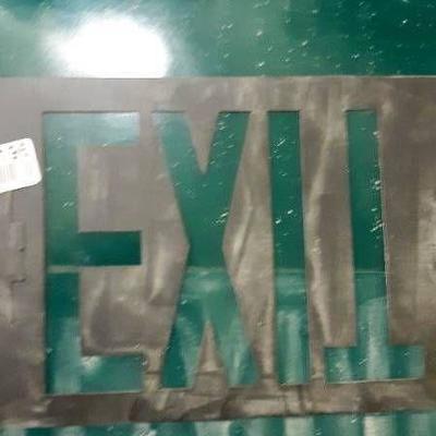 Exit Sign Panels