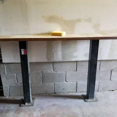Bar Height Slim Table