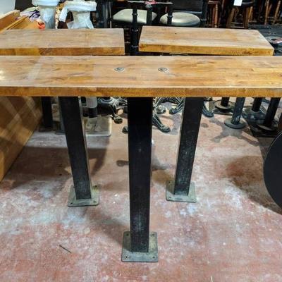 (3) Wooden Bar Tops