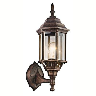 Kichler Chesapeake 17 Outdoor Wall Sconce in Tann ...
