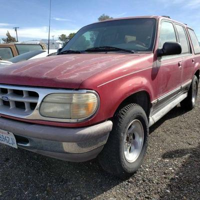 115: 1996 Ford Explorer Year: 1996 Make: Ford Model: Explorer Vehicle Type: Multipurpose Vehicle (MPV) Mileage: 138,341 Plate: {ENTER...