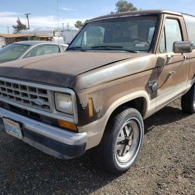 120: 1987 Ford Bronco II Year: 1987 Make: Ford Model: Bronco II Vehicle Type: Multipurpose Vehicle (MPV) Mileage: 89,862 Plate: {ENTER...