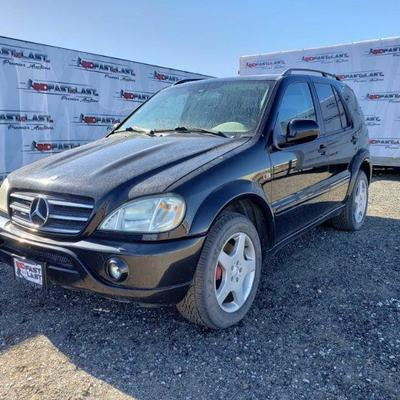 2001 Mercedes-Benz ML55 AMG Brakes Do Not Function. Sunroof, leather seats, power locks, mirrors, & windows. Year: 2001 Make:...