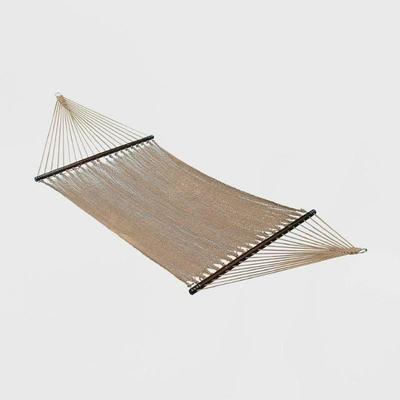Algoma Deluxe Caribbean Rope Hammock - Outdoor