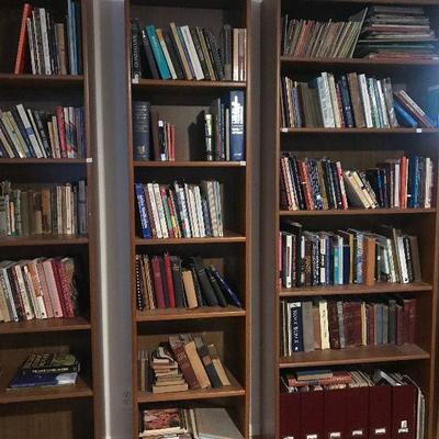 96 Linear Feet of Books