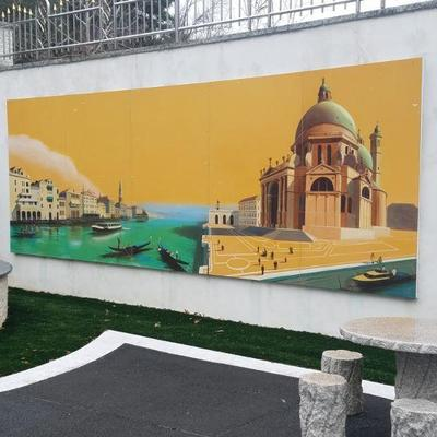 One of several murals by Ron Dabella