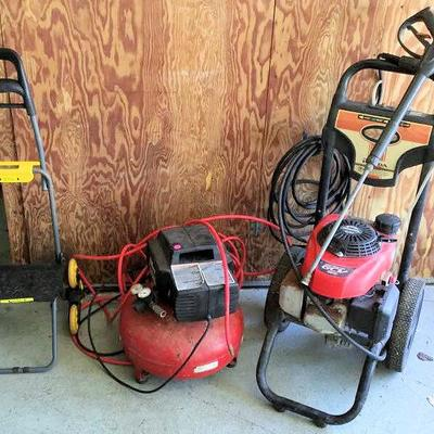 HFS014 Honda Power Washer, Air Compressor & Climb Cart
