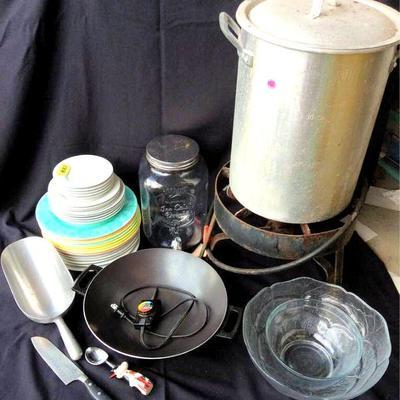 HFS001 Turkey Fryer, Electric Wok & More Kitchen Essentials