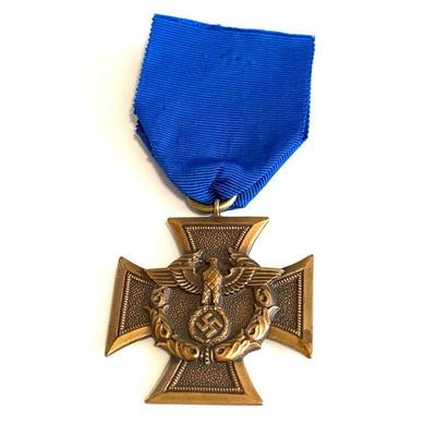 GERMANY BORDER PROTECTION (ZOLLGRENZSCHUTZ/CUSTOMS PROECTION LONG SERVICE AWARD Border Protection long service awad in bronze in a cross...