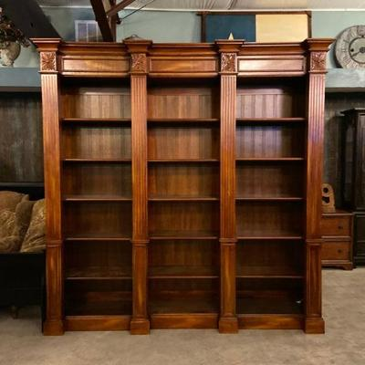 bookcase measures 8'2