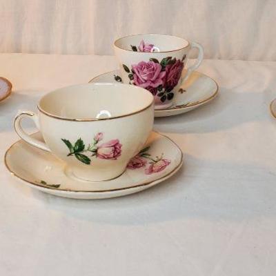 Valuable and rare Tea sets