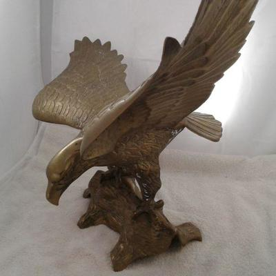 One Brass Eagle