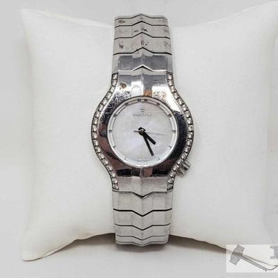 Authentic Tagheuer Diamond Watch Tagheuer Diamond Watch Measures Approx 20.5