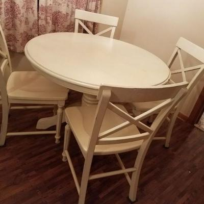 White Kitchen Table & Chairs