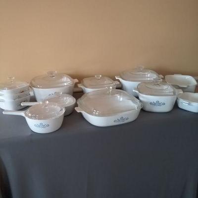 Assortment of Corning Ware