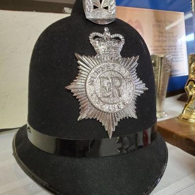Mid century Liverpool police helmet