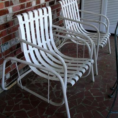 Pair of Vintage outdoor Chairs