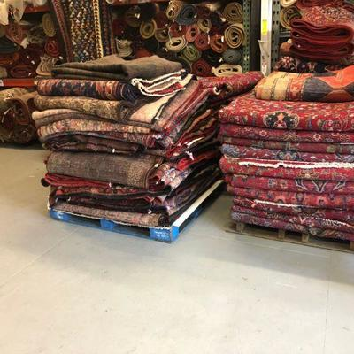 Estate Sale: Everything has to be sold!   Authentic Hand Knotted Antique Persian  & Oriental Rugs Natural Wool & Cotton, Vegetable Dye...