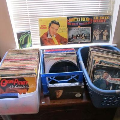 We have hundreds of vintage records!!  The 50s-70s  Including VERY RARE American albums from Venezuela.