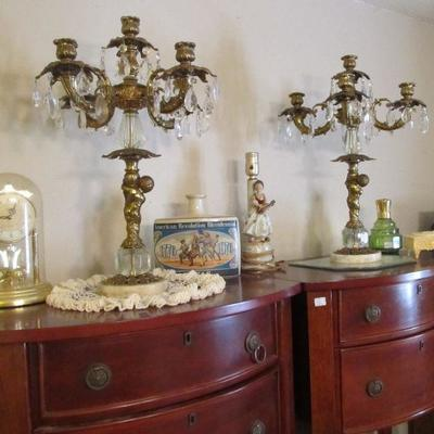 Feel like a king/queen with these beautiful candelabras