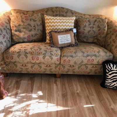 Stanley sofa $350 80 X 38 X 36