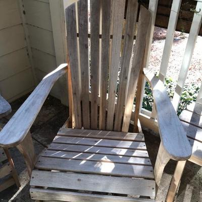 Andirondeck chair $25 3 available