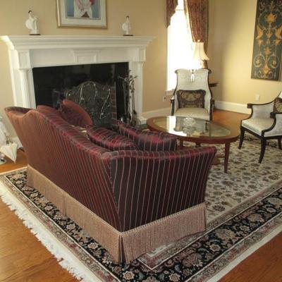 Custom Sofa For Any Room, Rugs & Fireside Chairs