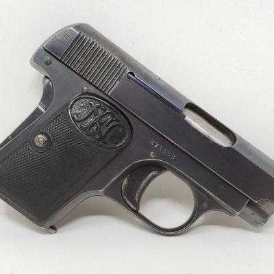 105: Fabrique d'Armes .25cal Semi-Auto Pistol with Magazine Serial Number: 271893 Barrel Length: 2