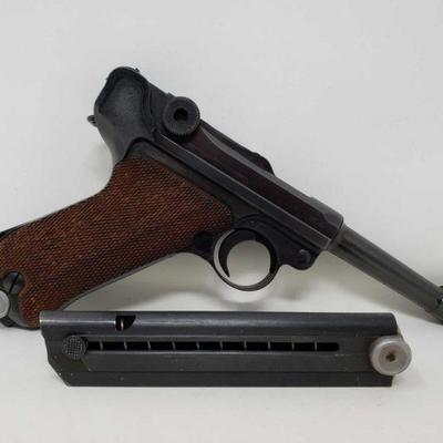 165: WWII Nazi Mauser Luger
