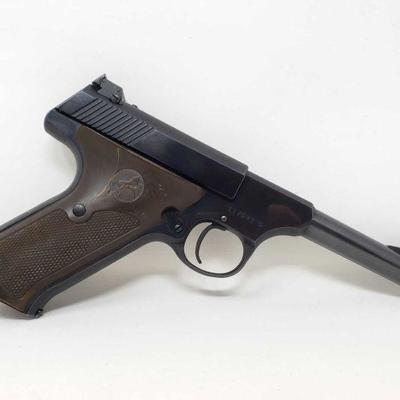 145: Colt Woodsman .22lr Semi-Auto Pistol with Magazine Serial Number: 117593-S Barrel Length: 4.5