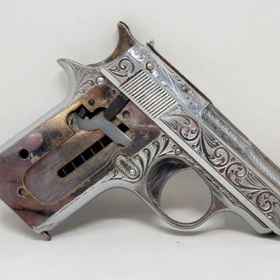 132: Star CO .25 cal with one magazine Engraged Serial number: 395459 Barrel Length: 2