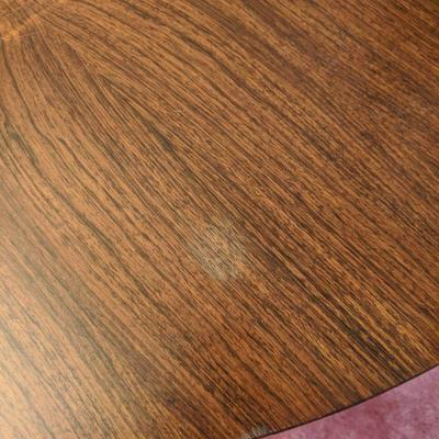 small scuff on round table-- $85