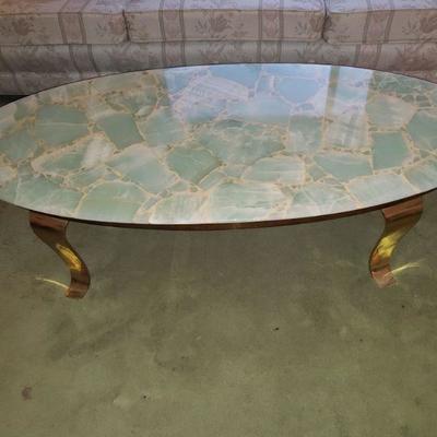 Beautiful Onyx coffee table