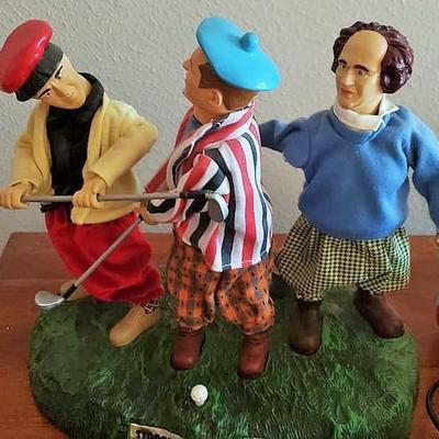 Three Stooges Golf Academy Talking & Slapstick Movement