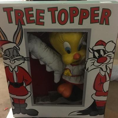 Tweety tree topper