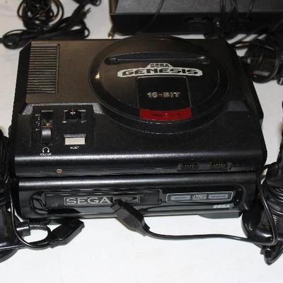 Sega genesis 16 bit console