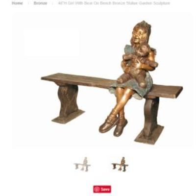 Bronze outdoor statuary