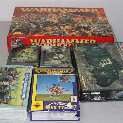 Warhammer figures, never put together