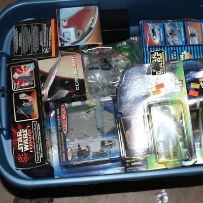 New in Box Star Wars figures