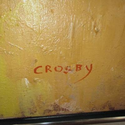 Crosby Listed Art oils